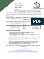Year 9 Term 3 - 5 Pillars ELP