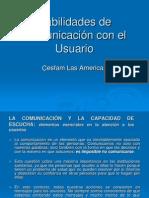Comunicación con  el  Usuario.ppt