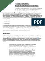 L'argent Colloidal - résumé.pdf