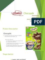 MR Presentation - Chocquik
