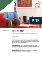 productbrief intel reader