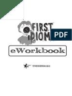 First Idioms EWorkbook
