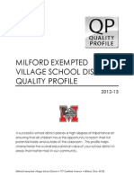 Milford Quality Profile