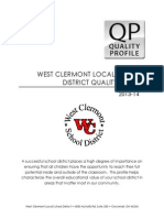 West Clermont Quality Profile