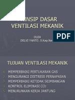 Prinsip Dasar Ventilasi Mekanik
