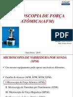 Microscopia eletrônica de Força atômica (AFM.pptx