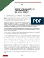 Guillermo Lora, Notas Sobre Revolución en La Revolución de Régis Debray (Julio 1967)