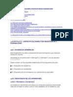 CAPITULO 3 - ESPECIFICACIONES POR RESISTENCIA Y DURABILIDAD.doc