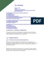 CAPITULO 6 - CONTROL Y RECEPCION .doc