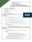 Personal Fun Facts Sheet