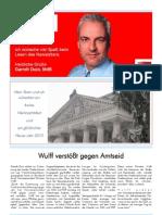 Newsletter Dezember II 2009