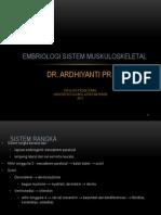 EMBRIOLOGI SISTEM RANGKA.ppt