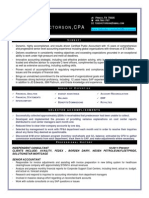 Senior Accountant CPA in Frisco TX Resume Todd Victorson