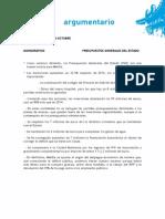 Argumentario del Partido Popular de Melilla