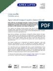 Apex vertical transport master classes take off