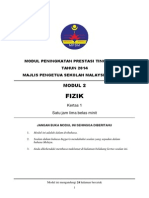 Trial Kedah SPM 2014 Physics K1 Modul 2