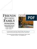 October FBF 2014 Calendar