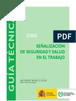 Guía sobre señalización de seguridad y salud