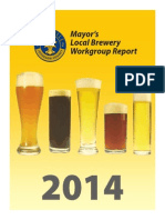 Mayor's Local Brewery Workgroup Report