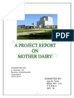 AJAY Mother Dairy