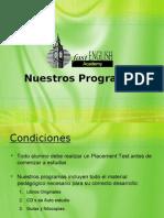 Programas Fast English