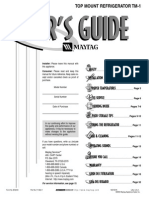 Maytag Fridge Use & Care Guide