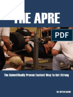 Bryan Mann - The APRE. the Scientifically Proven Fastest Way to Get Strong