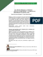 Rodrigues, Sierra - 2010 - Democracia, Direitos Humanos e Cidadania as novas políticas de reconhecimento e os impasses na judicialização da.pdf