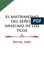 Verne, Julio - El Matrimonio Del Señor Anselmo De Los Tilos.docx