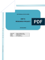 Manual of HND Research Project - Final_0