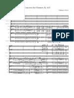 Mozart - Clarinet Concerto (Excerpt K.622)