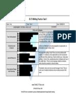 General Writing Test 1a Feedback Sample