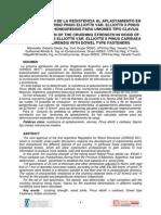 DETERMINACIÓN DE LA RESISTENCIA AL APLASTAMIENTO EN MADERA DE HÍBRIDO PINUS ELLIOTTII VAR. ELLIOTTII X PINUS CARIBAEA VAR. HONDURENSIS PARA UNIONES TIPO CLAVIJA.pdf