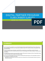 Washington Post Digital Partner Program research