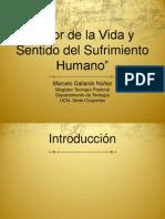 Valor de la Vida y sentido sufrimeinto humano.pptx