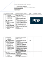 Limba Engleza- Planificare Limba Avansati Clasa a XI A