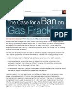 Ground Zero - Gas Fracking