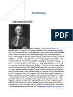 Hume's Skepticism