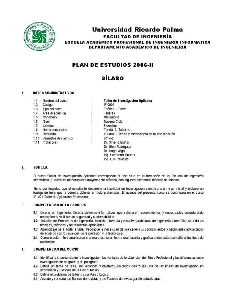Contemporáneo Ejemplos De Currículum De Ingeniería De Pregrado ...
