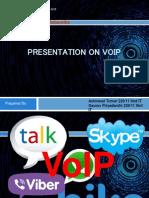 Presentation on VoIP