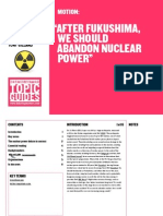 Nuclear Power Topic Guide