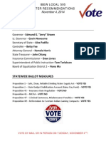 san joaquin calaveras county endorsements nov 2014