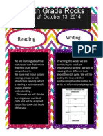News for Week of 10/13/14