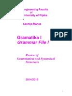 Grammar File I