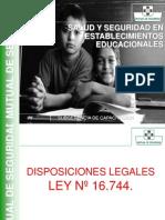 Salud y Seguridad en Establecimientos Educacionales.ppt