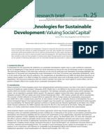 Social Technologies for Sustainble Development