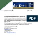 Bradenton Times Endorses Wohslifer