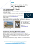 What's new in Plimmerton? October 2014 newsletter