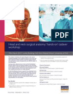 Head and Neck Surgical Anatomy Flyer