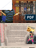 Duluth Library Fdn Annual Report 2012